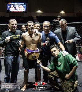 Brandon Medina MMA Fighter ACC Champion