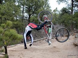 Mountain Biker's Accident